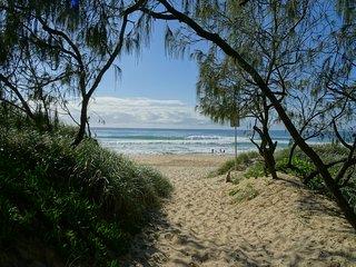 Wandana Beach House - Mount Coolum  - Beachfront - Roof terrace - Views - Mount Coolum vacation rentals