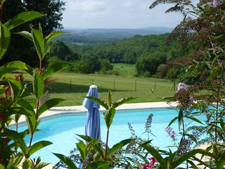 Converted bakehouse full of charm huge views and heated pool, large gardens WIFI - Sarlat-la-Canéda vacation rentals