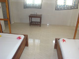 NUNGWI TABASAM BEACH 1 PEOPLE AIR COND ROOM&FOOD - Nungwi vacation rentals