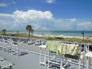 Surf n Sand Beach Flat Sleeps 3 to 4 WiFi - Saint Pete Beach vacation rentals
