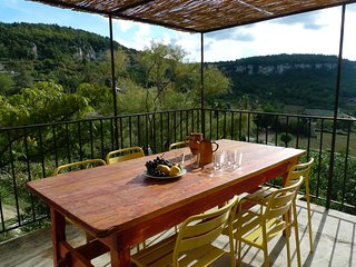 Maison de charme,Vue magnifique sur le Luberon,Terrasse et Jardins à Saignon - Saignon vacation rentals