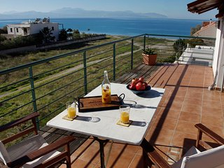 Loutraki Spa Vacation Villa w Private Way to Beach - Loutraki vacation rentals