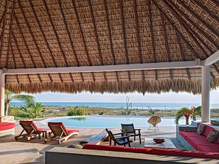 Artistic Beachfront Villa in prestigious and secured Community - Puerto Escondido vacation rentals