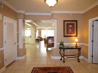 Relax in our spacious 3 bedroom 3 bath condo at Hidden Dunes and enjoy your own PRIVATE HOT TUB on your Balcony! - Thomas Drive vacation rentals