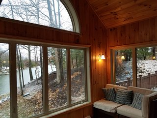 Lakefront house , great lake and mountain views - Athens vacation rentals