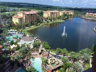 Wyndham Bonnet Creek by Disney, Orlando, 2BR DLX, Resort style with waterpark! - Celebration vacation rentals