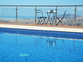 Spacious Vineyard Villa near Paphos with pool heating and panoramic views - Stroumbi vacation rentals
