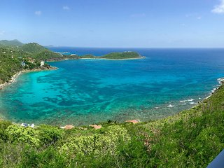 2 BR, huge kitchen/living room with spectacular views & close to Cruz Bay town - Virgin Islands National Park vacation rentals