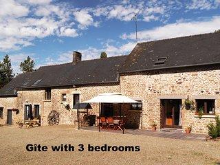 Farmhouse gite in rural Mayenne, France (3 bedrooms) - Villaines la Juhel vacation rentals