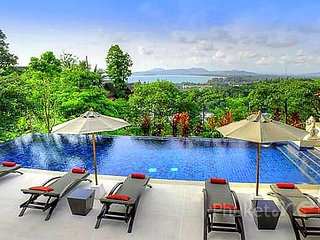 Superb 8-Bed Sea View Villa in Surin - Surin Beach vacation rentals