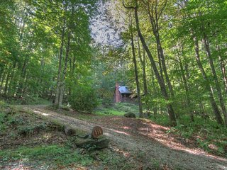 3BR Cabin, Warm Wood Interior, Hot Tub, Flat Screen TV, Outdoor Fire Pit, Hiking Trails, Bunkroom, Gas Grill, Natural Springs, Open Floor Plan - Zionville vacation rentals