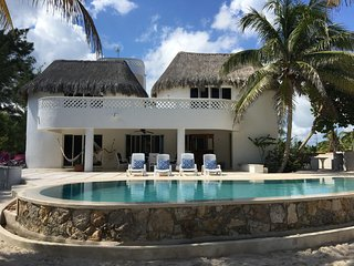 The large private beachfront property with ac and WiFi - Telchac Puerto vacation rentals