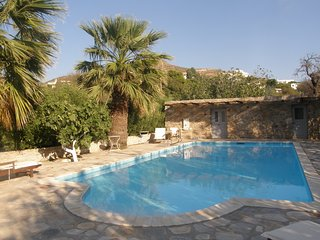 Villa Evangelini - aristocratic 19th century neo-classical mansion with private pool - Poseidonia vacation rentals
