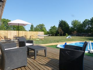 Maison piscine privée acces handicap france Marigny 79 - Marigny vacation rentals
