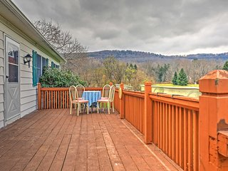 NEW! Lovely 3BR Otego House w/ Mountain Views! - Otego vacation rentals
