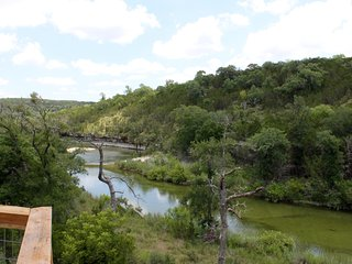 Whimsical Retreat on 35 Acres w/300 Ft of Private Lone Man Creek Frontage - Wimberley vacation rentals