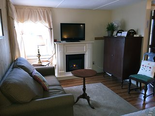 NH white mountain  cabin. Loon Waterville  state parks  view of mountains one room - Thornton vacation rentals
