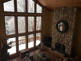 Stunning views of Enchanted Mountain and ski slopes - Ellicottville vacation rentals