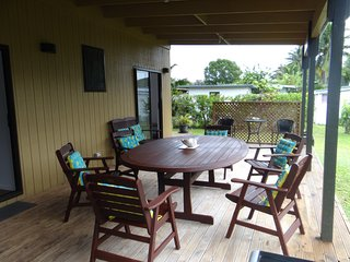 Lovely House with Deck and Television - Rarotonga vacation rentals