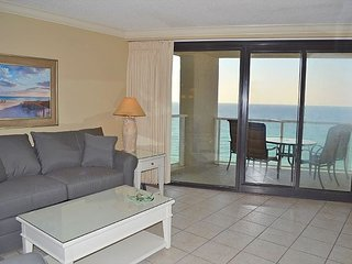 Relax with an unbelievable beach & Gulf view from the glass balcony! - Miramar Beach vacation rentals