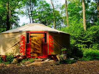 Nice Yurt with Parking and Fireplace - Forest Row vacation rentals