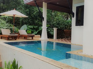 deluxe 2 person hide away jungle bungalow with garden, mountain pool, free WIFI - Khao Lak vacation rentals