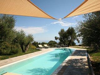 Top of range sea view villa with overflow pool - Spartia vacation rentals