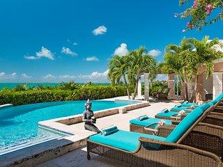 *ELEGANT VILLA* Ocean Views, Hilltop Sunset Gazebo - Providenciales vacation rentals