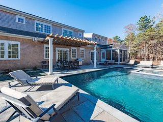 CASTN - Nora's Meadow, New Designer Home with Heated Gunite Pool and Hot Tub - Edgartown vacation rentals