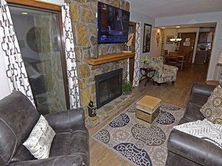 2 Bedroom Condo,,  in Gatlinburg & Ski Lodge, woodburning Fireplace, Wi-Fi - Gatlinburg vacation rentals