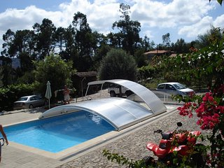 Salt water pool, tennis court, sauna, game room, tree house and gardens - Vila Verde vacation rentals