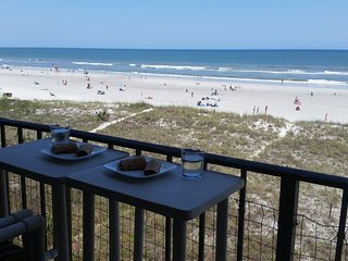 Charming Beach - Breathtaking View, Relaxing-Direct Beach Front Luxurious Condo. - Jacksonville Beach vacation rentals