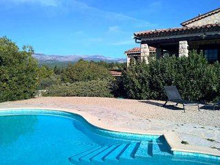 Callian holiday villa Cote d'Azur with private pool sleeps 8 - Callian vacation rentals