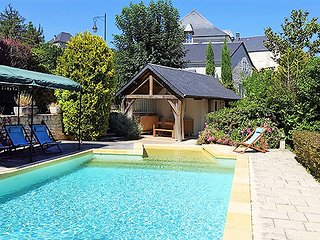 Artist's stone house with pool within walking distance of everything you need - Souillac vacation rentals