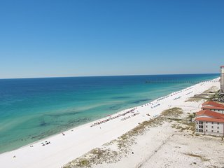 Gulf front condo BEST veiw on Pensacola Beach for Blue Angels 2017!! - Pensacola Beach vacation rentals