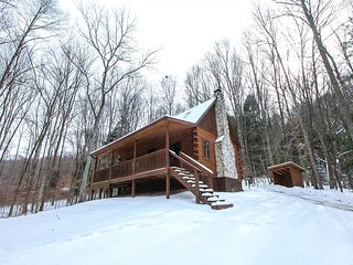 Secluded Hocking Hills Log Cabin - South Bloomingville vacation rentals