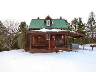 Romantic Cabin with Deck and A/C - McArthur vacation rentals