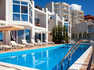 Beachfront Villa with a private swimming pool - Dobra Voda vacation rentals