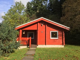 FRAOCHAN. Luxury Lodge Pucks Glen Dunoon Argyll - Dunoon vacation rentals