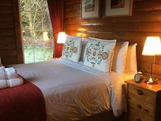 FRAOCHÁN. Luxury Log Cabin, by Pucks Glen in the Argyll Forest Park - Dunoon vacation rentals