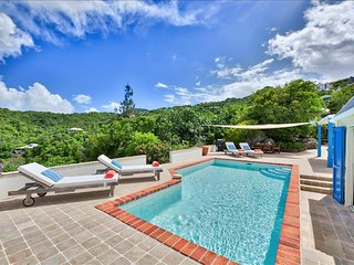 2-bedroom villa nestled on St. Barths Hillside - Camaruche vacation rentals