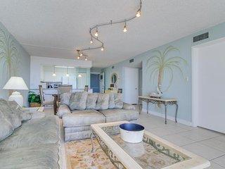 Beachside, ocean view condo, w/ shared tennis, dock, & pool - snowbirds welcome! - Destin vacation rentals