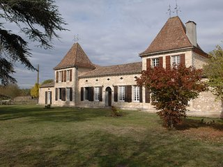 Château Le Guit - House with 7 rooms in Grignols, with enclosed garden and WiFi - Grignols vacation rentals