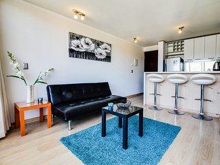 1 bedroom Apartment with Internet Access in Vina del Mar - Vina del Mar vacation rentals