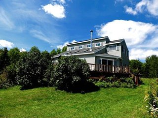 Catskill Mtn View Contemporary w Fireplace & Deck, near wedding venue and skiing - Margaretville vacation rentals