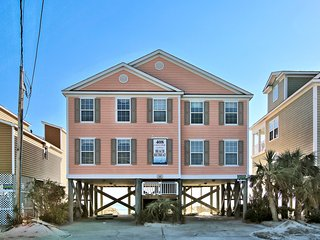 Beach Retreat- Oceanfront & Game Room! - Garden City vacation rentals