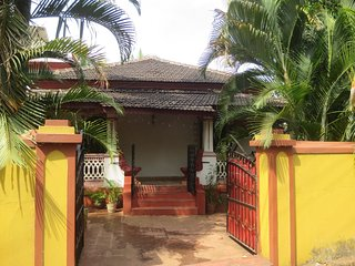 4 bedroom modernised old Goan/Portuguese style house on an island in North Goa. - Aldona vacation rentals