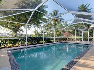 Modern waterfront home features private enclosed pool, nearby golfing, and more! - Naples vacation rentals
