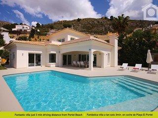 Bright Moraira Villa rental with Internet Access - Moraira vacation rentals