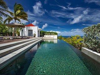 Ocean Dream Luxury Hilltop Designer Villa with Pool in St Barts - Gouverneur vacation rentals